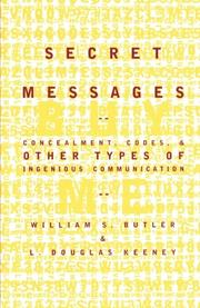Book Cover for SECRET MESSAGES