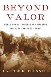Cover art for BEYOND VALOR