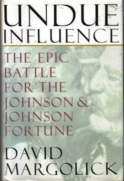 Cover art for UNDUE INFLUENCE