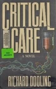 Cover art for CRITICAL CARE