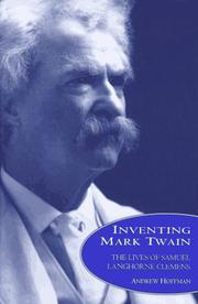 Book Cover for INVENTING MARK TWAIN