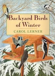 Book Cover for BACKYARD BIRDS OF WINTER