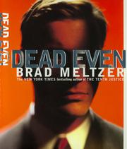 Book Cover for DEAD EVEN