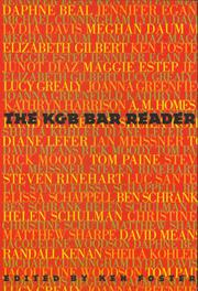 Cover art for THE KGB BAR READER