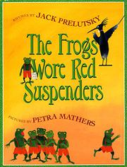 Cover art for THE FROGS WORE RED SUSPENDERS