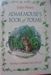 Cover art for ADAM MOUSE'S BOOK OF POEMS