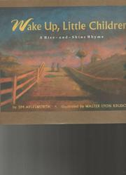 Book Cover for WAKE UP, LITTLE CHILDREN