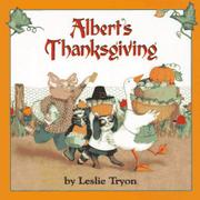 Cover art for ALBERT'S THANKSGIVING