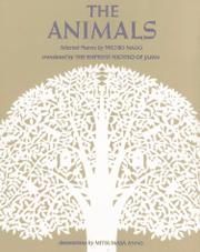 Cover art for THE ANIMALS