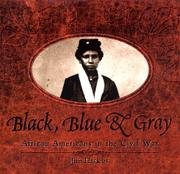 Cover art for BLACK, BLUE, AND GRAY