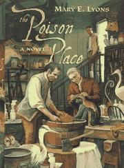 Cover art for THE POISON PLACE