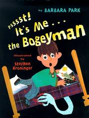 Cover art for PSSSST! IT'S ME...THE BOGEYMAN