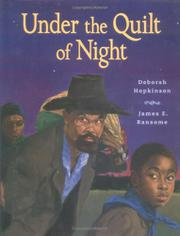 Book Cover for UNDER THE QUILT OF NIGHT