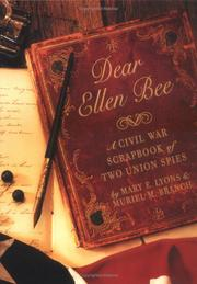 Cover art for DEAR ELLEN BEE