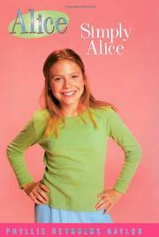 Cover art for SIMPLY ALICE