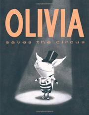 Cover art for OLIVIA SAVES THE CIRCUS