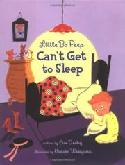 Book Cover for LITTLE BO PEEP CAN'T GET TO SLEEP