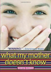 Cover art for WHAT MY MOTHER DOESN'T KNOW