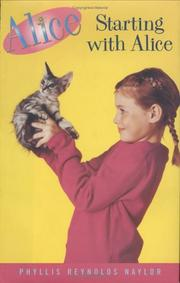 Book Cover for STARTING WITH ALICE