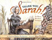 Cover art for THANK YOU, SARAH