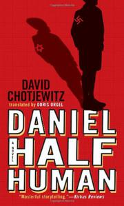 Book Cover for DANIEL HALF HUMAN: AND THE GOOD NAZI