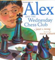 Cover art for ALEX AND THE WEDNESDAY CHESS CLUB