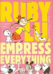 Book Cover for RUBY LU, EMPRESS OF EVERYTHING
