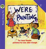 Cover art for WE'RE PAINTING