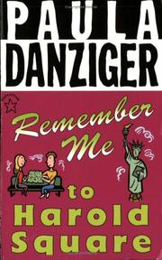 Cover art for REMEMBER ME TO HAROLD SQUARE