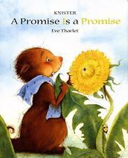 Book Cover for A PROMISE IS A PROMISE