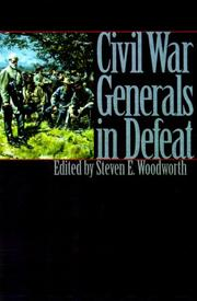 Cover art for CIVIL WAR GENERALS IN DEFEAT