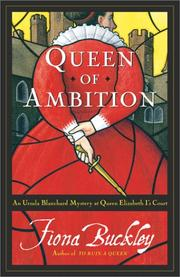Cover art for QUEEN OF AMBITION