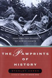Cover art for THE PAWPRINTS OF HISTORY