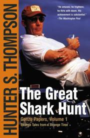 Cover art for THE GREAT SHARK HUNT