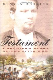 Cover art for TESTAMENT