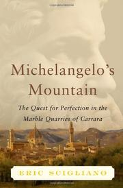 Cover art for MICHELANGELO'S MOUNTAIN