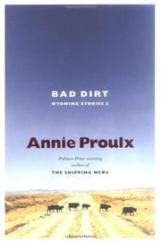 Book Cover for BAD DIRT