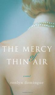 Cover art for THE MERCY OF THIN AIR