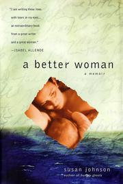 Cover art for A BETTER WOMAN