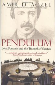 Cover art for PENDULUM