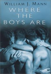 Cover art for WHERE THE BOYS ARE