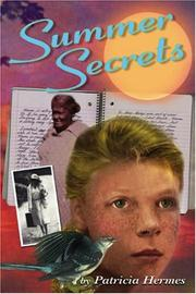 Cover art for SUMMER SECRETS
