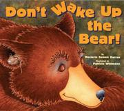 Cover art for DON'T WAKE UP THE BEAR!