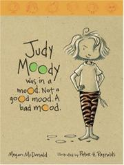 Cover art for JUDY MOODY