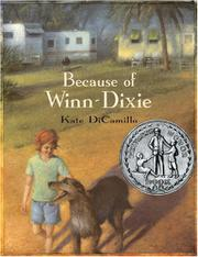 Book Cover for BECAUSE OF WINN-DIXIE