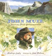 Cover art for JOHN MUIR