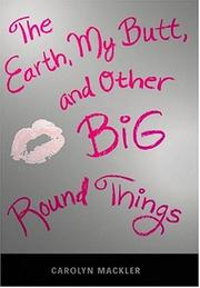 Cover art for THE EARTH, MY BUTT, AND OTHER BIG ROUND THINGS