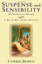 Cover art for SUSPENSE AND SENSIBILITY