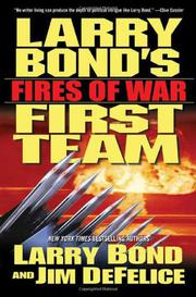 Cover art for LARRY BOND'S FIRST TEAM