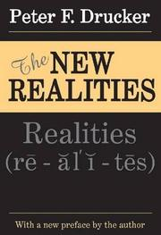 Cover art for THE NEW REALITIES